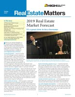 Real Estate Matters Spring 2019 Cover