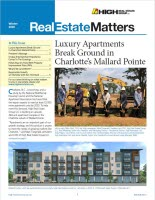 Real Estate Matters Winter 2020 issue cover